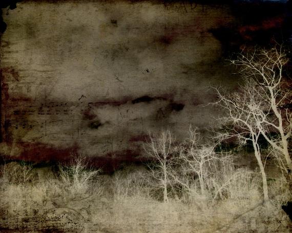 50% OFF SALE: Ghost Town -Digital Art Print