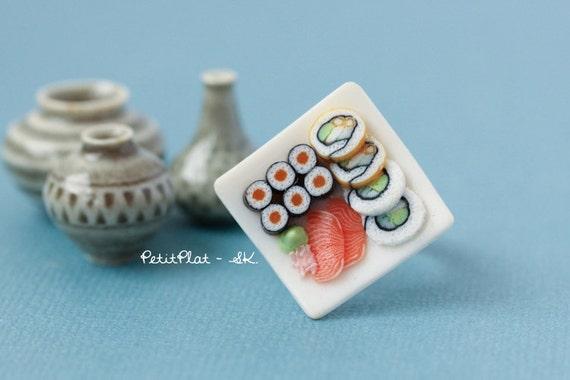 Sushi Ring - Miniature Food Jewelry