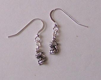 Sterling Silver SQUIRREL Earrings - Wildlife,  Totem
