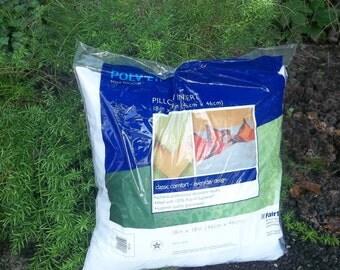 Pillow Insert for Custom Pillows Craft Supply Pillow Form Cotton Pillow Foam Pillow Insert Linen Pillow Burlap Pillows