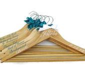 DIY Personalized Wedding Hanger Decals, Hangers NOT included