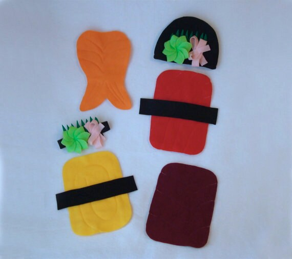 DIY Do It Yourself Baby Costume  Halloween Costume  Sushi Costume