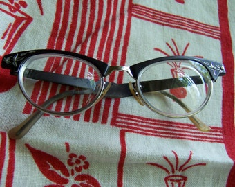 vintage art craft eye glasses