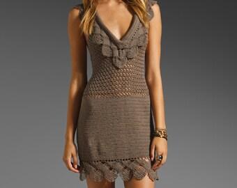 MADE TO ORDER  summer crochet dress  RI113 - replica