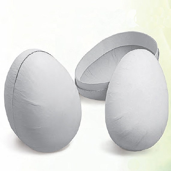 Shop Towels Paper Mache: Made In Germany Unfinished Papier Mache Easter Egg Container