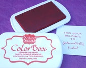 STRAWBERRY/DARK RED Color Box by Stephanie Barnard Dye Ink Pad