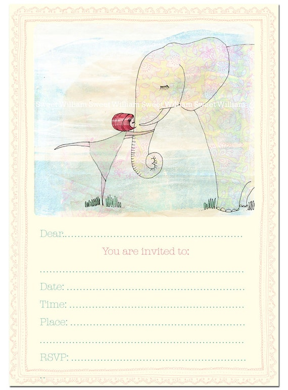 Party Invitation instant printable download fill in invitation Girls Wise Friends