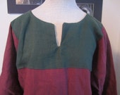Linen Keyhole Tunic Custom Shirt SCA Medieval Renaissance LARP