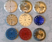 Nine Vintage Watch Faces (WPF422)