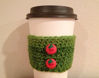 Strawberry Field Cup Cozy