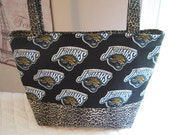 Jacksonville Jaguars Purse Diaper Bag Custom Made to Order Design your own tote Choose your size