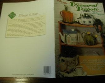 Teapot Plastic Canvas Patterns Treasured Teapots Needlecraft Shop 943371 Plastic Canvas Pattern Leaflet