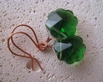 Emerald Geen Earrings