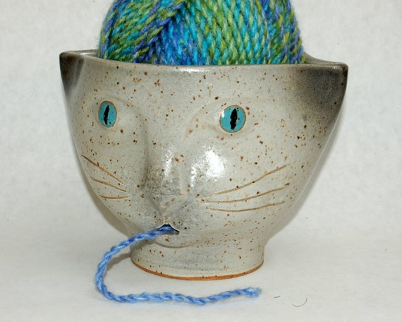 Siamese Cat Yarn Bowl