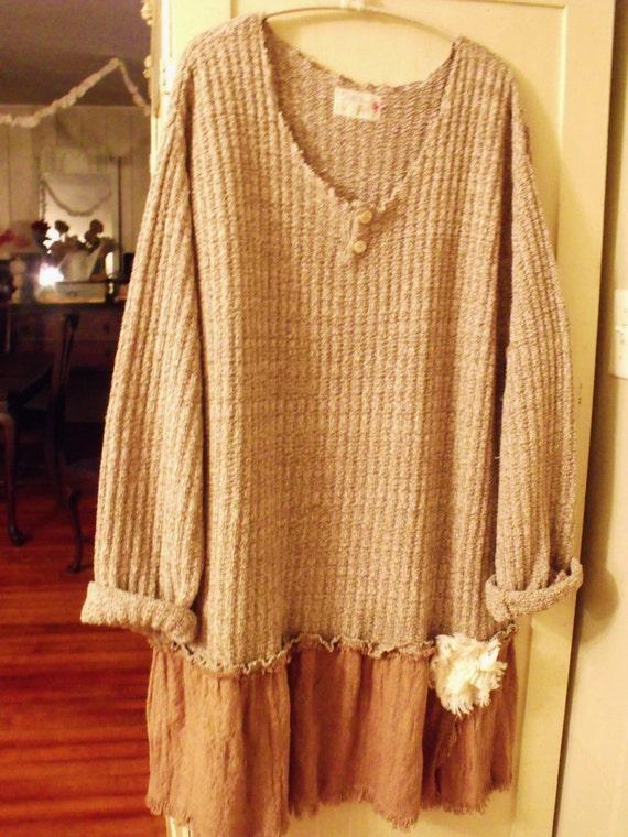 Plus Size Sweater Tunic Dress Plus Size/sweater