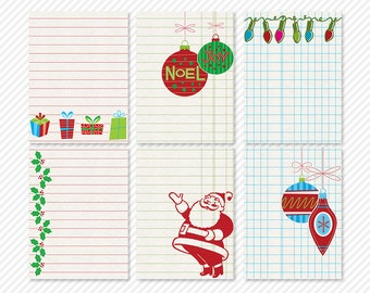 my life 365 - christmas past project journaling cards - digital scrapbooking - automatic download