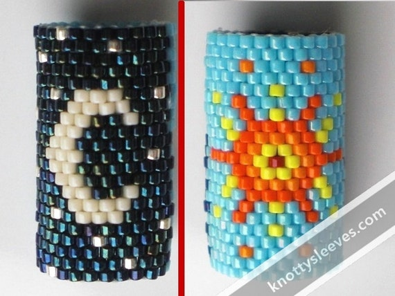 Peyote Stitch Dreadlock Sleeve, Brother Sun Sister Moon