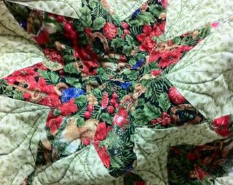 Quilt Pattern Star of Bethlehem Modern Patchwork Christmas PDF Pattern with Instant Digital Download