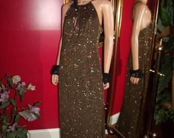Vintage  Evening  Flapper Dress  Tea Party   Size 14