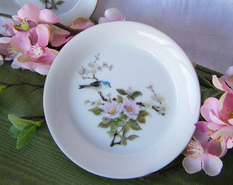 Small Vintage Asian Style Birdie Trinket or Candy Dishes