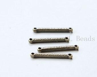 20pcs Antique Brass Tone Base Metal Links-26x3mm (8805Y-B-463B)