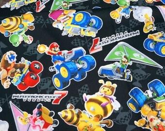 Mario Bross Print Japanese fabric Half meter