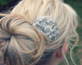 Pearly Princess Hairpiece/Hair Clip