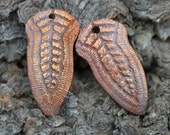 Handmade Copper Goddess Component (1 pair)