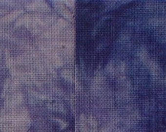 Starr Design 4 Pack Fat Quarters Tanzanite Hand Dyed Cotton Fabrics