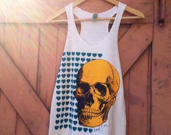 To Die For Organic Cotton Blend Tank - Natural White