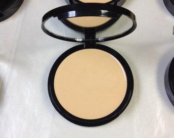 Organic Foundation Cream To Powder Mineral Foundation Perfect Match™  in LIGHT Natural foundation acne safe makeup cruelty free cosmetics