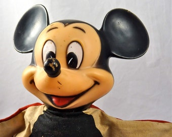 Vintage Mickey Mouse Hand Puppet