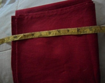 "Dark Red 35"" fabric square"