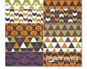 Sweet Essential Halloween Designer Series Digital Papers | 10 12x12 Papers Great for Scrapbooking & Photographers| Instant Download | PE8019