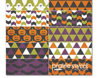 Sweet Essential Halloween Designer Series Digital Papers | 10 12x12 Papers Great for Scrapbooking & Photographers| Instant Download | PE8019