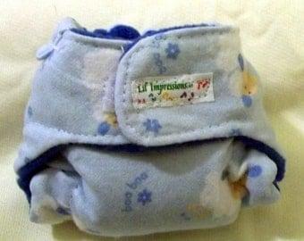 Lil' Impressions Pocket Diaper Keychain, Baa Baa