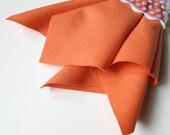 Coral Wool Felt, Choose Size, Large Felt Sheet, Felt Square, Pure Merino Wool, Nonwoven Fabric