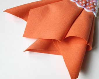 Wool Felt, Coral, Pure Merino Wool, Choose Size, Large Felt Sheet, Felt Square, Nonwoven Fabric, Certified Safe, Doll Making, Felt Flowers