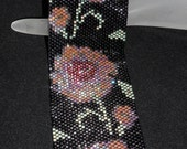 Moonlight Flowers - PDF Beadweaving Pattern
