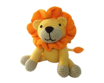 Crochet PATTERN: Lion -pdf-