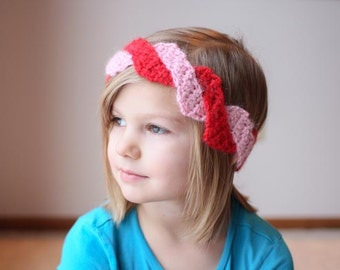 Instant Download - Crochet Pattern - Braided Headwrap (Baby to Adult)
