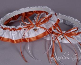 University of Texas Longhorns Wedding Garter Set