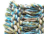 Scarf cowl hood neckwarmer, women men knit winter wool stretch wide headband dread head wrap, green teal blue olive gold beige crochet i959