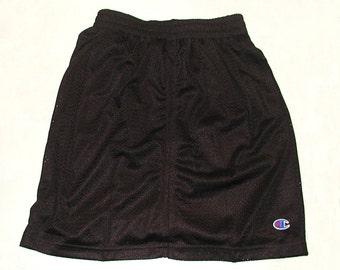 Girl's Black Beach Skirt Size 7 / 8