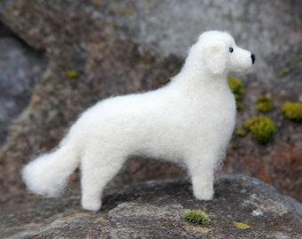 Dog Needle Felting Kit - Livestock Guardian Dog