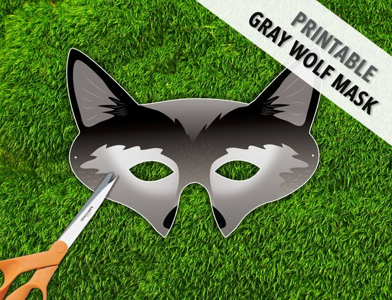 Printable Wolf Mask Cake Ideas And Designs