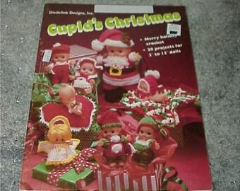 Crochet Pattern Book--CUPID'S Christmas--Crocheting Projects--Kewpie Dolls--Cupie Doll