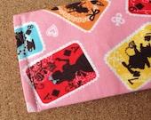 Alice in wonderland card Mini Snap Wallet