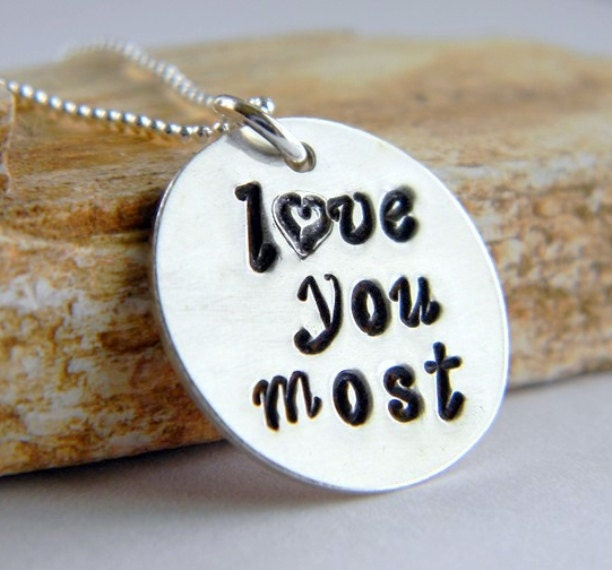 I love you 100 languages necklace - YouTube