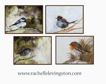 art print Bird art print Bird art watercolor bird PRINTS bird mothers gift idea 8 x10 watercolor bird painting french country
